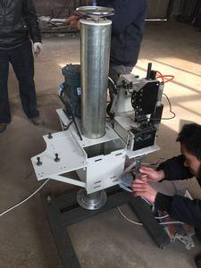 客户定制防爆电机反向折边机反向机头